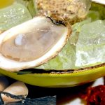Marasheen Bay Oysters on Crushed Ice, Pickled Ramps